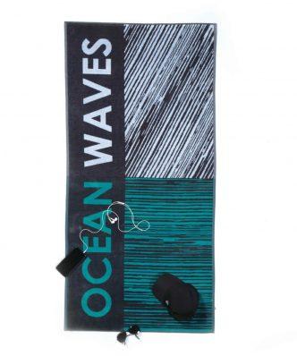 Βελουτέ Πετσέτα Θαλάσσης OCEAN WAVES της NEF-NEF (80x160)