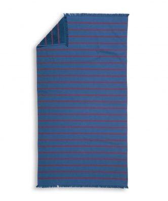 Πετσέτα Θαλάσσης - Παρεό (2 όψεων) TEO της NEF-NEF (90x170) BLUE