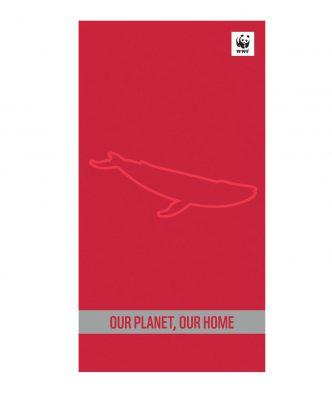 Βελουτέ Πετσέτα Θαλάσσης WWF OUR PLANET, OUR HOME της NEF-NEF (80x160)
