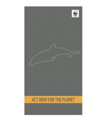 Βελουτέ Πετσέτα Θαλάσσης WWF ACT NOW FOR THE PLANET της NEF-NEF (80x160)