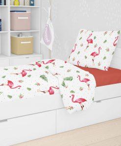 Παιδική Παπλωματοθήκη Μονή Flamingo 292 της DIMcol (160x240)