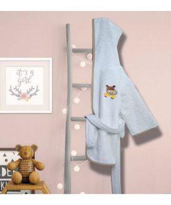 Βρεφικό (bebe) Μπουρνούζι HIPPO της Sb Home - (No 02)