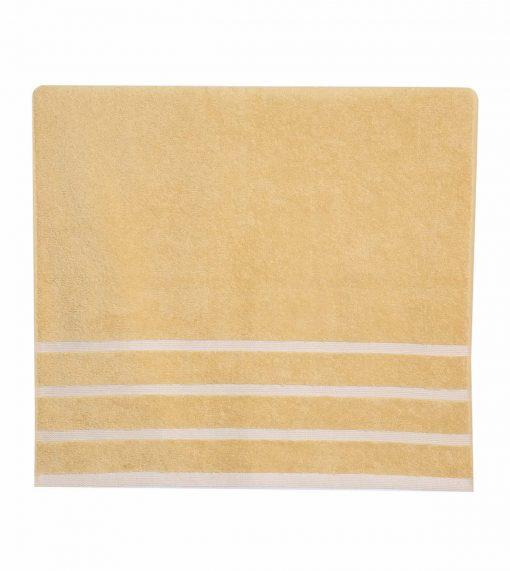 Σετ Πετσέτες Μπάνιου (3τμχ) MADISON της NEF-NEF - YELLOW/WHITE