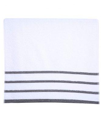 Σετ Πετσέτες Μπάνιου (3τμχ) MADISON της NEF-NEF - WHITE/BLACK