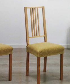 Ζευγάρι Ελαστικό Κάλυμμα Καρέκλας DAYTONA (μόνο κάθισμα) - (26 Χρώματα)