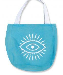 Τσάντα Παραλίας Blue WATCH ME της NEF-NEF (45x45x10)