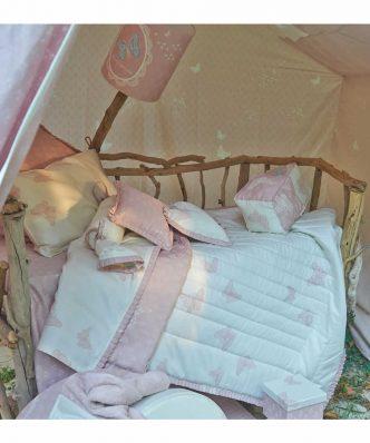 Βρεφικό Κουβερλί bebe Κούνιας Dreamland 116 της Down Town