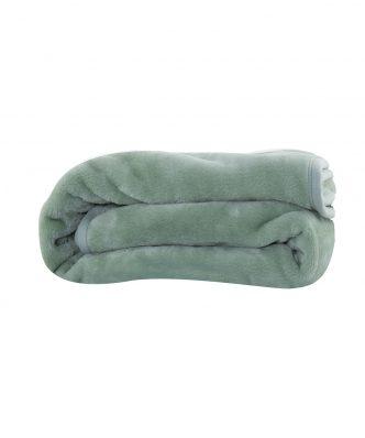 Βελουτέ κουβέρτα Μονή LOFT της NEF-NEF (160x220) 1143-GREEN