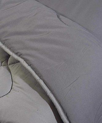 Σετ Υπερδιπλα Σεντόνια με Πάπλωμα (5τμχ) WINTER PACK 4733 της Das Home - ΓΚΡΙ