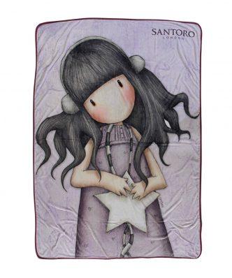 Παιδική Κουβέρτα Μονή Fleece SANTORO GORJUSS All These Words 5029 της Das Home (160x220) - ΛΙΛΑ