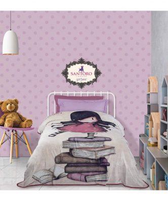 Παιδική Κουβέρτα Μονή Fleece SANTORO GORJUSS New Heights 5031 της Das Home (160x220) - ΜΠΕΖ/ΚΟΚΚΙΝΟ