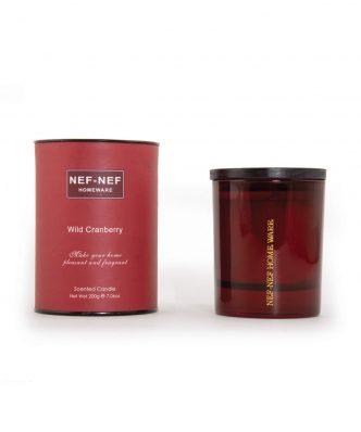Αρωματικό Κερί WILD CRANBERRY της NEF-NEF