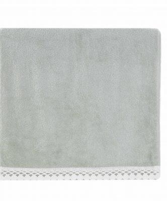 Σετ (2τμχ) Πετσέτα Χεριών & Προσώπου CROCHET της NEF-NEF - 1118-PISTACHIO