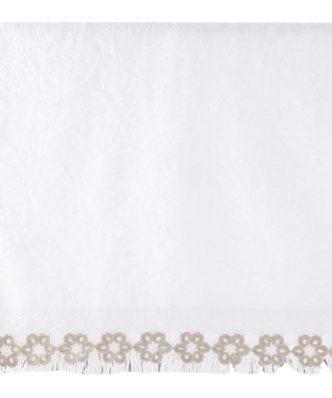 Σετ (3τμχ) Πετσέτες Μπάνιου ADELAID της NEF-NEF - WHITE
