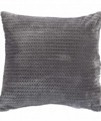 Fleece Διακοσμητικό Μαξιλαράκι CAMERON της NEF-NEF (45x45) GREY