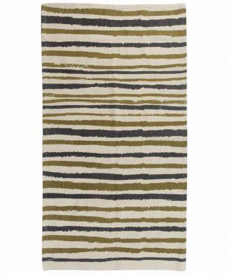 Χαλί Carpet Line 70015 της Das Home (70x140) - ΕΚΡΟΥ/ΛΑΔΙ/ΜΠΛΕ