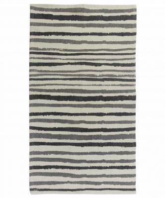Χαλί Carpet Line 7016 της Das Home (70x140) - ΕΚΡΟΥ/ΜΠΛΕ