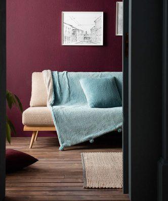 Κουβέρτα Καναπέ με γουνάκι SOFTY 478/01 της GOFIS HOME (130x170) ΣΙΕΛ