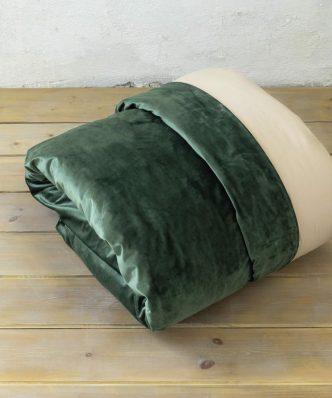 Παπλωματοθήκη Μονή NUAN της NIMA HOME (160x240) FOREST GREEN