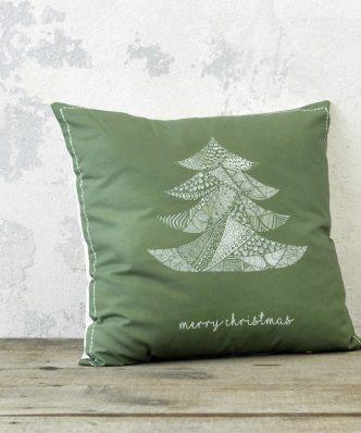 Χριστουγεννιάτικο Διακοσμητικό μαξιλάρι BOHO TREE της NIMA HOME (45x65)