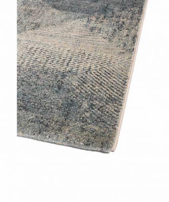 MATRIX 4855-030 ΜΠΛΕ/ΓΚΡΙ Χαλί της Colore Colori (σε επιθυμητή διάσταση)