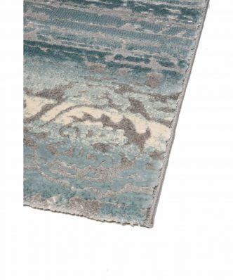 THEMA 5143-930 ΓΑΛΑΖΙΟ/ΓΚΡΙ Χαλί της Colore Colori (σε επιθυμητή διάσταση)
