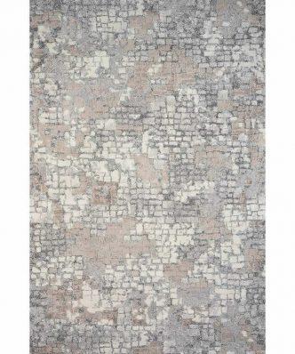AKINA 5642-957 ΓΚΡΙ/ΜΠΕΖ Σετ (3τμχ) Χαλάκια Υπνοδωματίου της Colore Colori