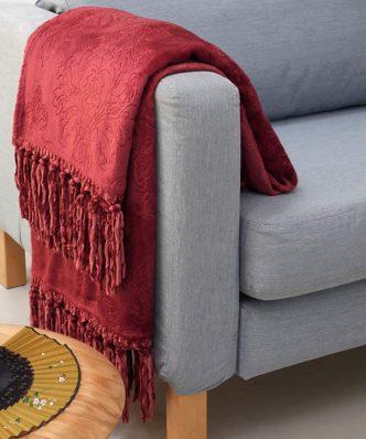 Κουβέρτα Καναπέ BIMBA της MELINEN (130x170) APPLE