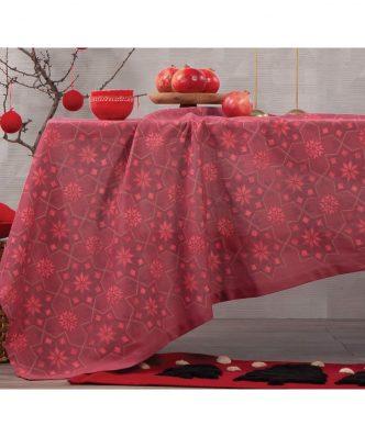 Χριστουγεννιάτικο Τραπεζομάντηλο CHRISTMAS SPIRIT της NEF-NEF - RED