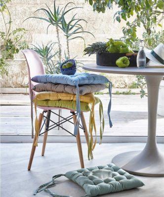 DIEGO 21 Μαξιλάρι Καρέκλας της ΚΕΝΤΙΑ (40x40x5) GREEN