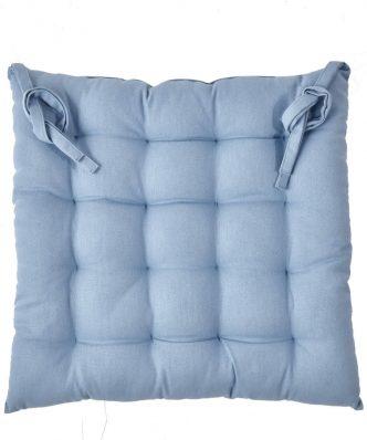 DIEGO 01 Μαξιλάρι Καρέκλας της ΚΕΝΤΙΑ (40x40x5) BLUE
