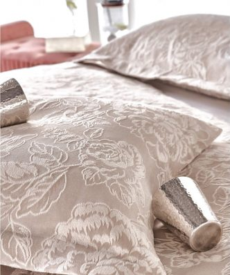 Serenity CAMERON Ανοιξιάτικη Κουβέρτα Υπέρδιπλη της ΚΕΝΤΙΑ (230x260) BEIGE-ECRU