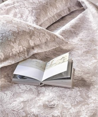 Serenity NAOMI Ανοιξιάτικη Κουβέρτα Υπέρδιπλη της ΚΕΝΤΙΑ (230x260) BEIGE-ECRU