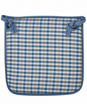 FOAM DES 19 Μαξιλάρι Καρέκλας της ΚΕΝΤΙΑ (40x40x3) BLUE-ECRU-OCHRE