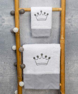Σετ (2τμχ) Βρεφικές Πετσέτες ROYAL της ΑΒΟ