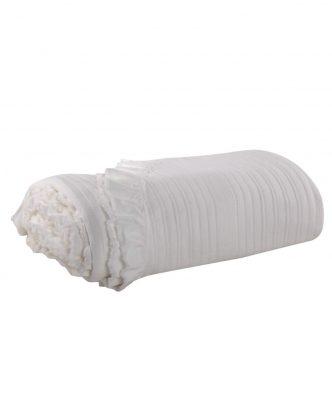 Χειροποίητη Κουβέρτα Υπέρδιπλη LEANDER της NEF-NEF (230x250) WHITE