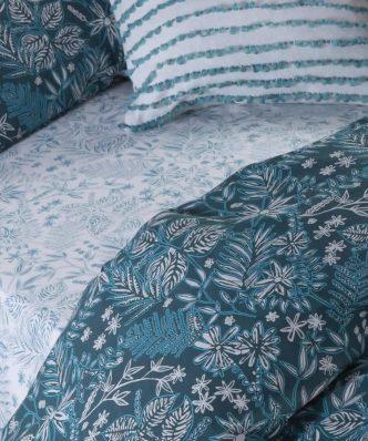 Σετ Σεντόνια Μονά Blue ELVIRA BLUE της NEF-NEF (170x270) BLUE