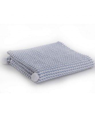 Βρεφική Καλοκαιρινή Κουβέρτα SOMETIME της NEF-NEF - BLUE