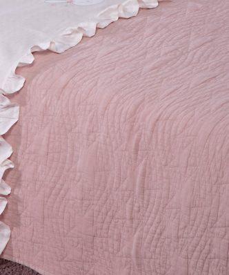 Βρεφικό Κουβερλί Κούνιας BABY STARS PINK της NEF-NEF (110x150) PINK