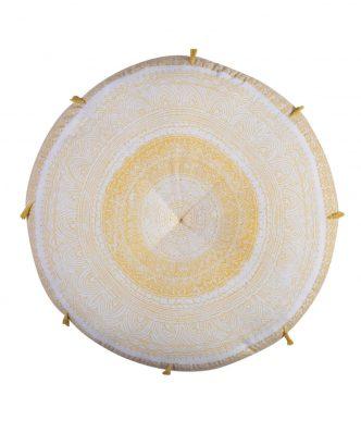 Μαξιλάρα Δαπέδου CONFIDENT της NEF-NEF (Δ:60cm) YELLOW