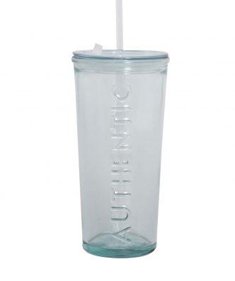 Γυάλινο Ποτήρι με καπάκι AUTHENTIC της NEF-NEF (500cc) NATURAL