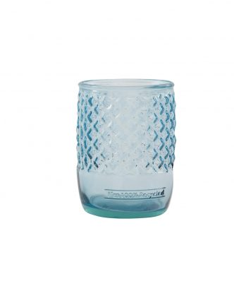 Γυάλινο Ποτήρι Μπάνιου DIAMANTE της NEF-NEF (500cc) BLUE