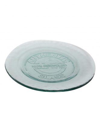 Γυάλινο Πιάτο Φαγητού AUTHENTIC της NEF-NEF ( 28cm) NATURAL