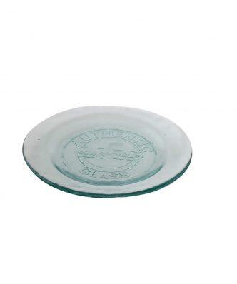Γυάλινο Πιάτο Φαγητού AUTHENTIC της NEF-NEF (20cm) NATURAL