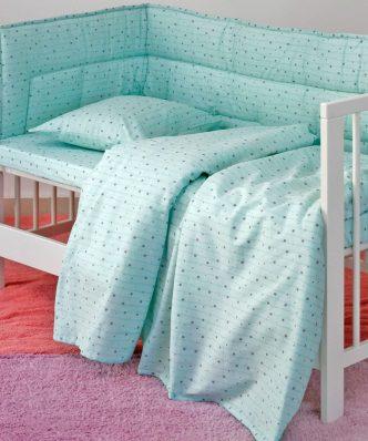 Βρεφική Μαξιλαροθήκη (1τμχ) Baby Line ESTRELLA BOY της MELINEN (35x45)