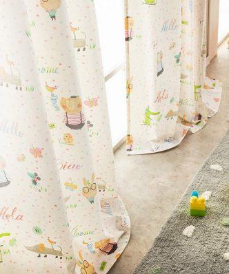 Έτοιμη Παιδική Κουρτίνα με Τρέσα Playful 388 της GOFIS HOME (150x260)