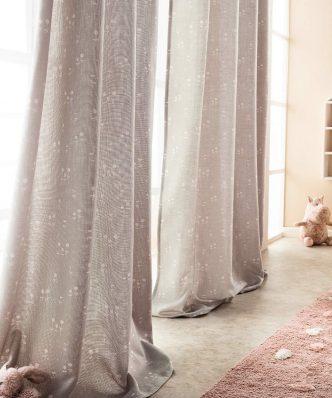 Έτοιμη Κουρτίνα με Τρέσα Cassian 420B/15 της GOFIS HOME (140x 280) Γκρι
