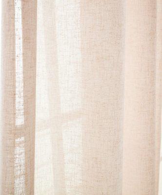 Έτοιμη Κουρτίνα με Τρουκς Combe 502/25 της GOFIS HOME (140x 280) Σομόν