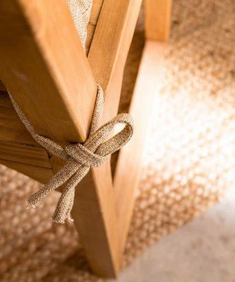 Μαξιλαράκι καρέκλας Hygg 213/13 της GOFIS HOME (40x40) Μπεζ