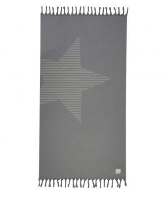 Πετσέτα Θαλάσσης / Παρεό FANTASIA της NEF-NEF (90x170) GREY